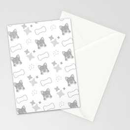 Burrito Puppy, Playful Pattern Stationery Cards