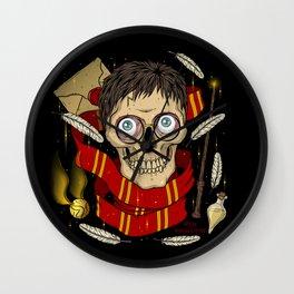 Harry P. as Skull Wall Clock