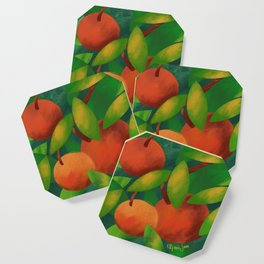 Tangerine Love Coaster
