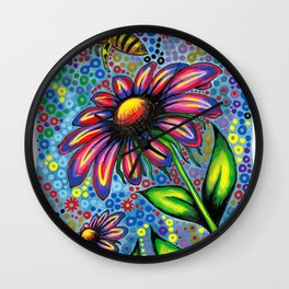 """In The Garden"" Wall Clock"