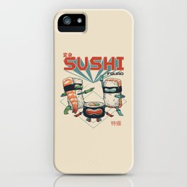 Sushi Squad iPhone Case