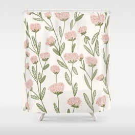 Rose Garden Pattern Shower Curtain