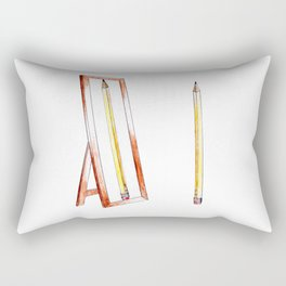 No. 1 Pencil Rectangular Pillow