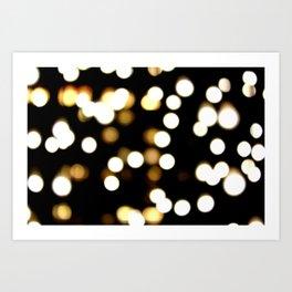 scattered light Art Print