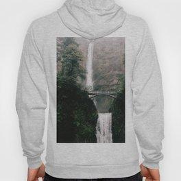 Multnomah Falls Waterfall in October - Landscape Photography Hoody