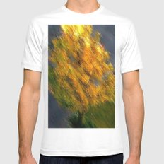 HERBST 2012. MEDIUM White Mens Fitted Tee