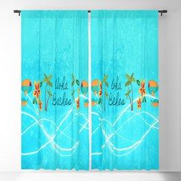 Aloha Beaches Blackout Curtain