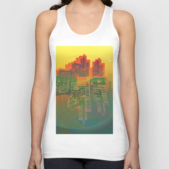 Station / Spatial Factor 19-12-16 Unisex Tank Top