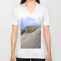 dune V-neck T-shirts featuring Dune by  Agostino Lo Coco
