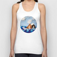 caleb troy Tank Tops featuring Troy Marinera ~ Sailor by Marivi Troy