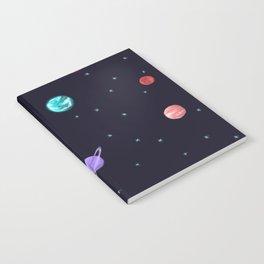 Bright night sky Notebook