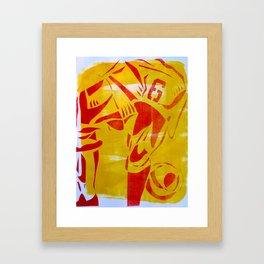 Futebol Arte Framed Art Print