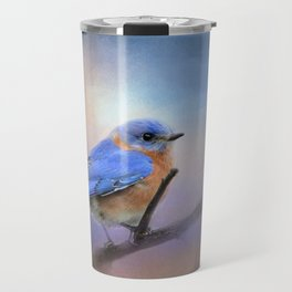The Happiest Blue - Bluebird Travel Mug
