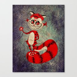 The Cat Appears! Canvas Print