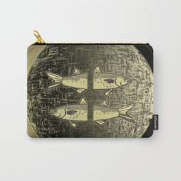 Planetary Mood 5b / Vertical Divergence 10-02-17 Carry-All Pouch