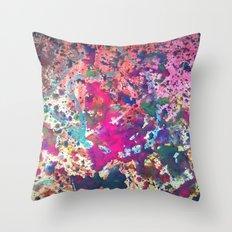 Splatter I Throw Pillow