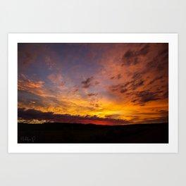 Robb Road Sunrise Art Print