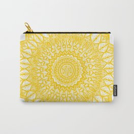 Sunshine-Yellow Carry-All Pouch