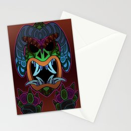 Mighty Warrior Stationery Cards