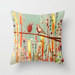 in your eyes Throw Pillow