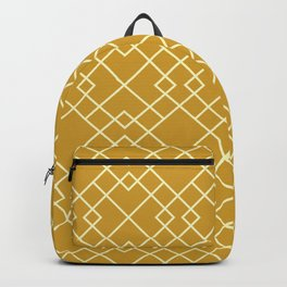 Lattice in Gold Backpack