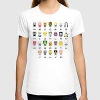 lemongrab T-shirts featuring Ad Venture Time Alphabet by PixelPower