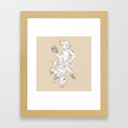 Jack Of All Dimensions Framed Art Print