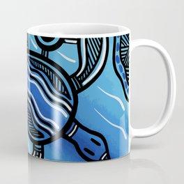 Authentic Aboriginal Art - Turtle Coffee Mug