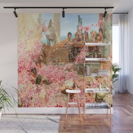 The Roses of Heliogabalus by Sir Lawrence Alma-Tadema Wall Mural