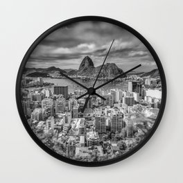Undaunted like Muhamad Ali Wall Clock