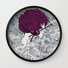 Linger in my Soul Wall Clock