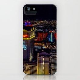 Las Vegas skyline photos iPhone Case