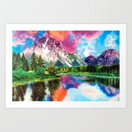 Wyoming Art Print