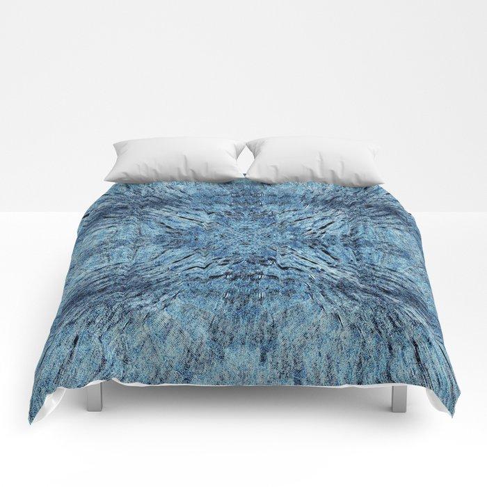 Spun Denim Mandala Comforters