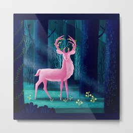 King Of The Enchanted Forest Metal Print