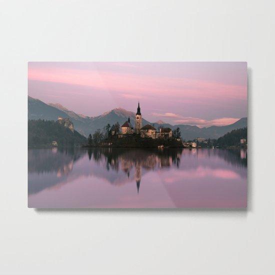 Bled, Slovenia Metal Print