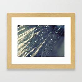 Rain Shower Framed Art Print
