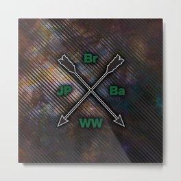 Br Ba JP WW Metal Print