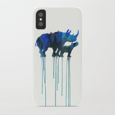 rhinoceros_001 iPhone X Slim Case