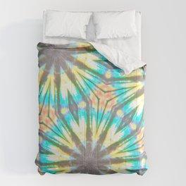 Twelve-Pointed Diagonal Stars Comforters
