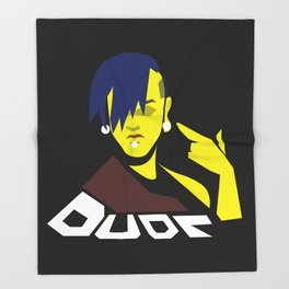 Dude Throw Blanket