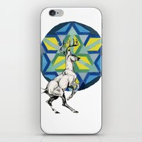 stag iPhone & iPod Skins featuring STAG by The Traveling Catburys