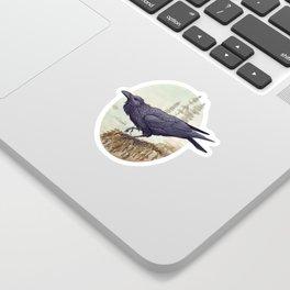 Raven of the North Atlantic Sticker