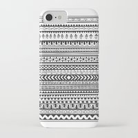 striped iPhone & iPod Cases featuring Striped by Rough Gem
