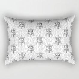 Japanese Stone Lantern - Pattern Rectangular Pillow