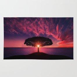 Sunset of Life Rug