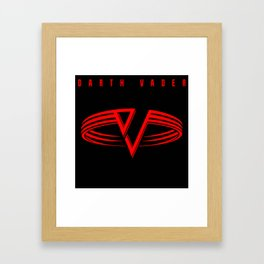 Running With The Sith Framed Art Print