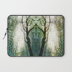 Bamboo Forest Geometry Laptop Sleeve