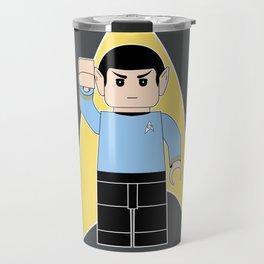 Live Long and Prosper  (Lego Spock - Star Trek) Travel Mug