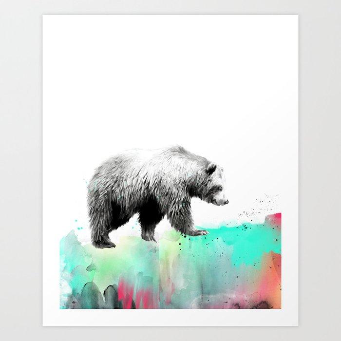 Entdecke jetzt das Motiv WILD NO. 1 // BEAR von Amy Hamilton als Poster bei TOPPOSTER